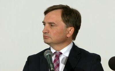 Minister Zbigniew Ziobro o aferze hejterskiej