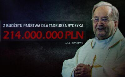 """Miliony na """"imperium"""" ojca Tadeusza Rydzyka"""