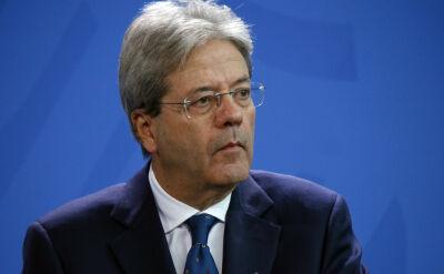 Paolo Gentiloni pozbywa się papierów wartościowych przed przesłuchaniem w europarlamencie