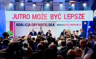 Koalicja Obywatelska przedstawia program wyborczy