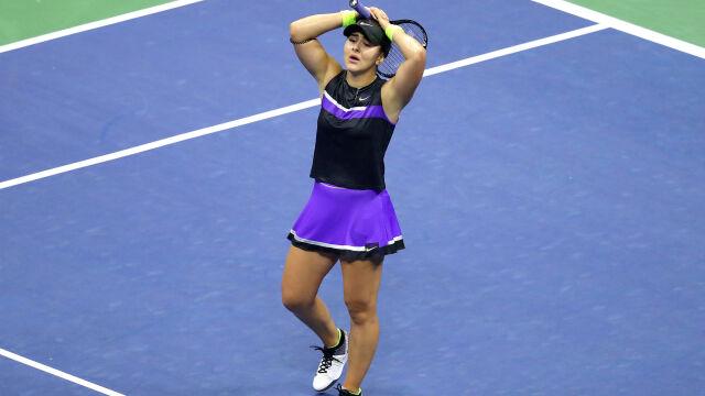 19-latka szturmem bierze US Open. Wielki finał będzie starciem pokoleń
