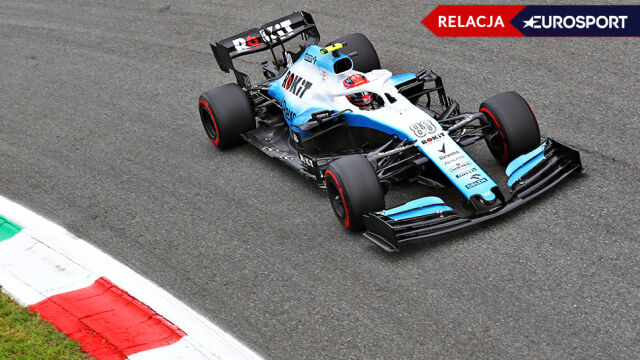 Kuriozalna sytuacja na koniec kwalifikacji Grand Prix Włoch. Kubica najwolniejszy