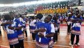 Papież na spotkaniu z młodzieżą w Mozambiku
