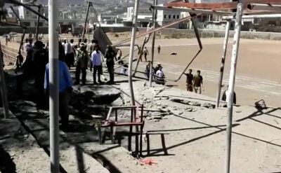 Atak rakietowy na paradzie wojskowej w Jemenie