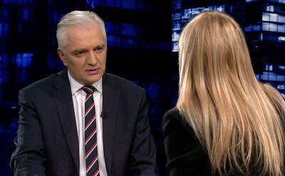 Gowin: śmiem wątpić, by motywy podawane przez Komisję Europejską były prawdziwe