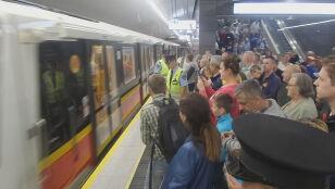 Metro dotarło na Targówek. Odjechał pierwszy pociąg
