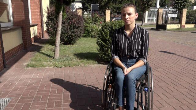 Ania miała czarny pas, teraz ma wózek inwalidzki. Od czterech lat walczy tylko w sądzie