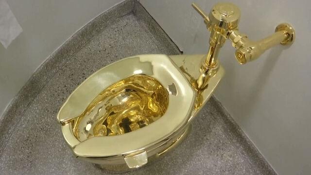 Ukradli złoty sedes.  Powódź w domu Churchilla