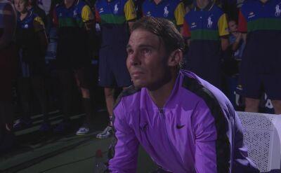 Łzy Nadala po triumfie w US Open