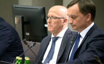 Na posiedzeniu komisji dyskutowano w sprawie wotum nieufności wobec Ziobry