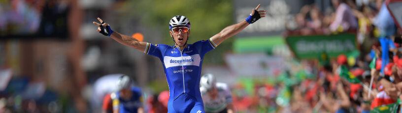 Popis i triumf 37-letniego Belga. Spadek Majki w klasyfikacji generalnej