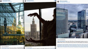 44 piętra - 44 fotografów.