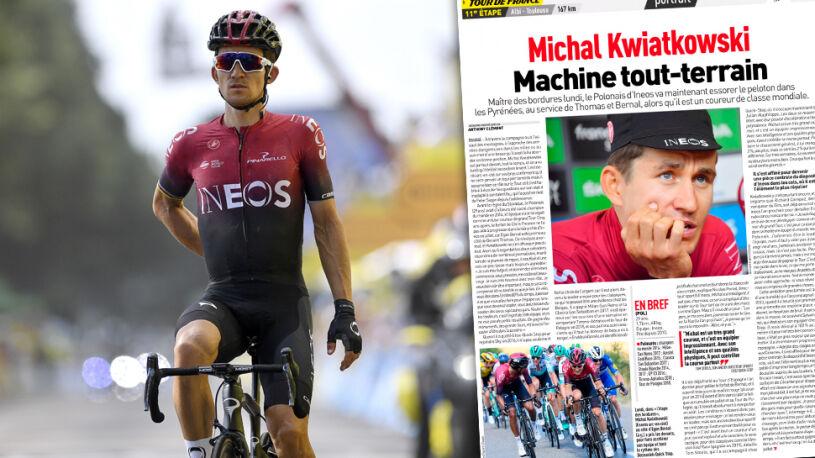 """Poświęca się dla zespołu, ale marzy o wielkim triumfie.  Michał Kwiatkowski, czyli """"maszyna na każdy teren"""""""
