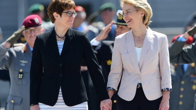 Szefowa CDU nową minister obrony Niemiec