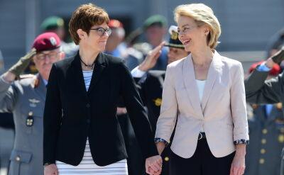 Annegret Kramp-Karrenbauer nową minister obrony Niemiec