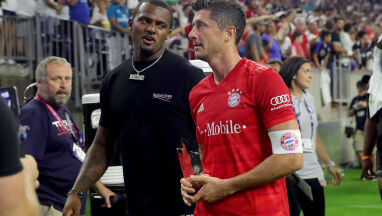 Lewandowski piłkarzem meczu.