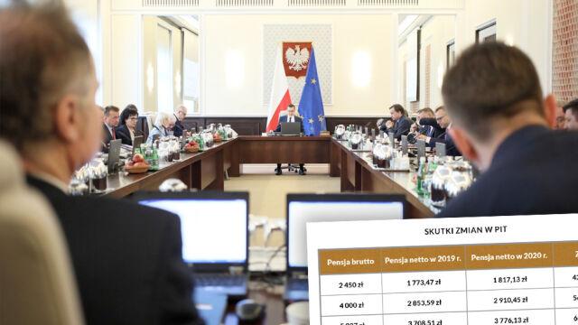 """""""Kilkaset złotych rocznie więcej w portfelach Polaków"""". Rząd przyjął projekt ustawy"""