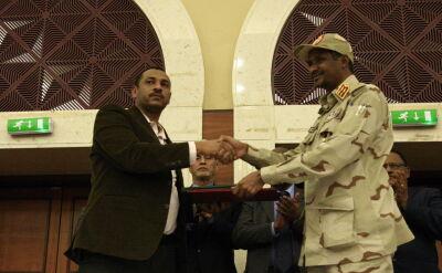 Historyczne porozumienie w Sudanie