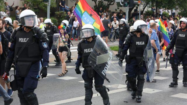 Niespokojnie podczas Marszu Równości w Białymstoku. Zatrzymano 20 osób