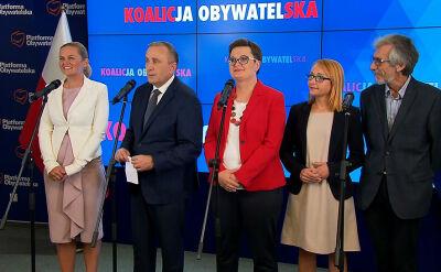 """Znamy wyborcze """"jedynki"""" Koalicji Obywatelskiej"""