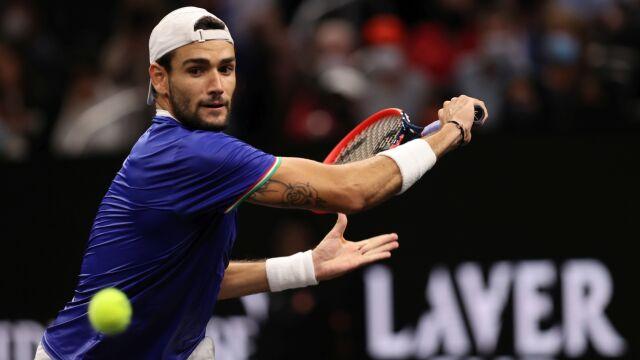 Walka o każdy punkt. Tenisiści z Europy prowadzą w Laver Cup