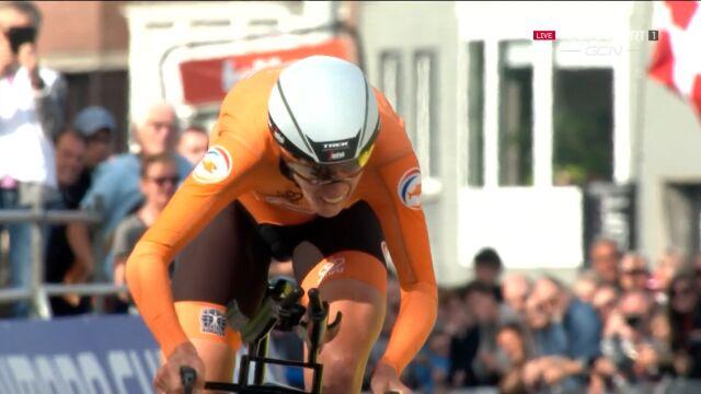 Van Dijk mistrzynią świata w jeździe indywidualnej na czas