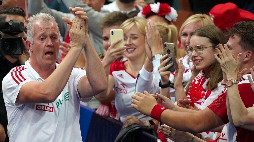 """""""Nigdy nie płakałem tak bardzo"""".  Vital Heynen podziękował Polsce"""