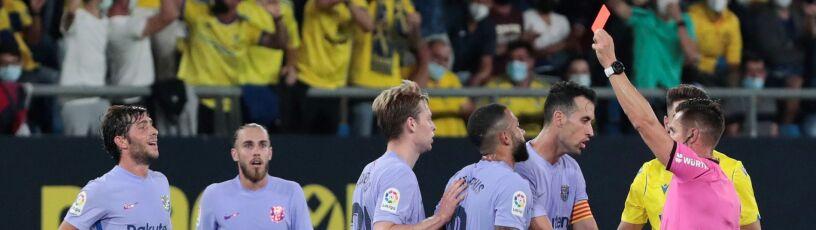 Osłabiona Barcelona straciła punkty