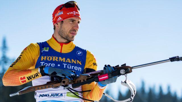 """Legenda niemieckiego biathlonu kończy karierę. """"Odchodzę nie będąc najsłabszym"""""""