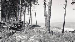 Lokomotywy na półwyspie służyły za barykady