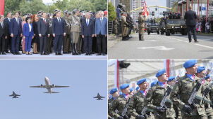 Na niebie F-15, na ulicach żołnierze i czołgi. Święto wojska w Katowicach
