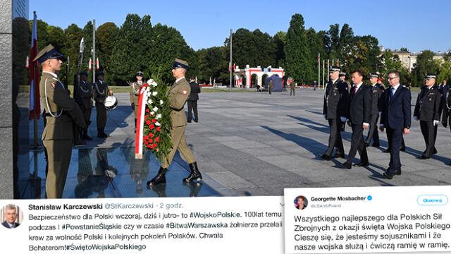 """Obchody Święta Wojska Polskiego. """"Bezpieczeństwo dla Polski wczoraj, dziś i jutro"""""""