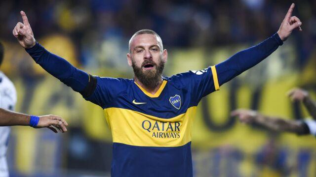 Słodko-gorzki debiut De Rossiego w Boca Juniors