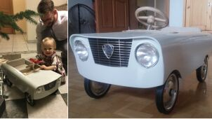 Zbudował wyjątkowe miniauto dla dziecka, ktoś ukradł je z garażu.