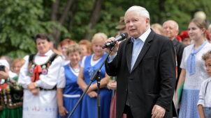 Poland's Kaczyński condemns gay pride marches as election nears