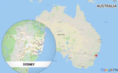 Do ataku nożownika doszło w samym centrum Sydney