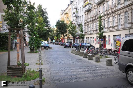 Woonerf w Berlinie