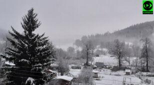 Zima rozgościła się na południu Polski