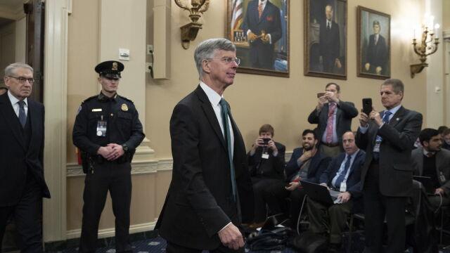 Przesłuchania w sprawie impeachmentu Trumpa.