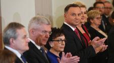 Prezydent wręczył odznaczenia państwowe. Dwa Ordery Orła Białego