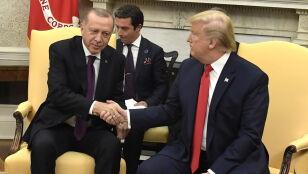 Trump spotkał się z Erdoganem. Nie uniknięto spornych kwestii