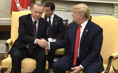 Trump spotkał się z Erdoganem w Białym Domu