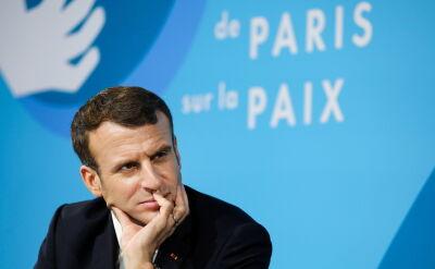 Macron otworzył konferencję międzynarodową Forum Pokoju
