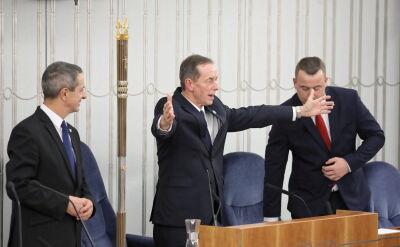 Marszałek Senatu Tomasz Grodzki. Całe wystąpienie