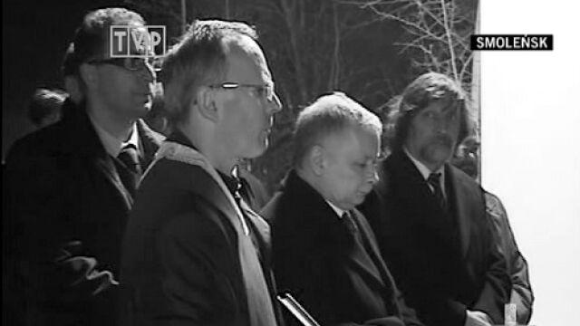 Jarosław Kaczyński zidentyfikował ciało brata
