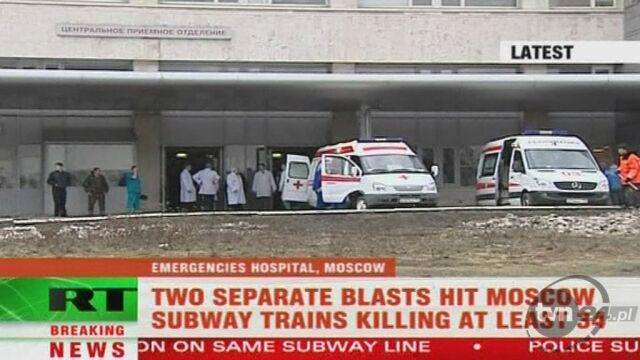 Kilkanaście osób trafiło do szpitali (APTN)
