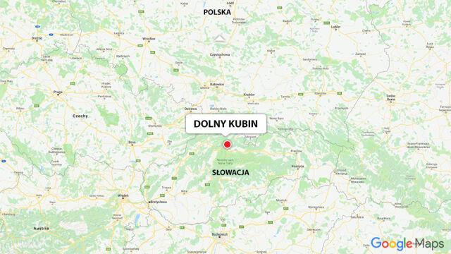 Do wypadku doszło w okolicy słowackiego miasta Dolny Kubin