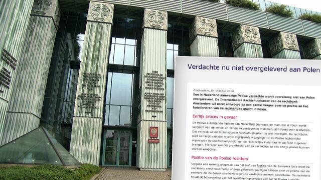 Brak zgody na ekstradycję do Polski.  Sąd w Amsterdamie pyta o praworządność