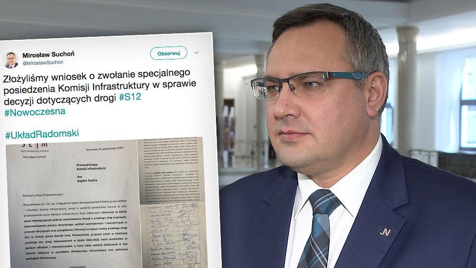 """Wniosek w Sejmie w sprawie """"układu radomskiego"""""""