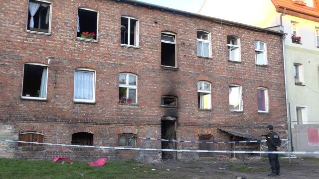 Druga ofiara śmiertelna pożaru w Lęborku. 13-letni Janek przestał oddychać